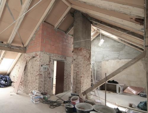 Dachgeschoss Umbau und Sanierung München Schwanthalerhöhe