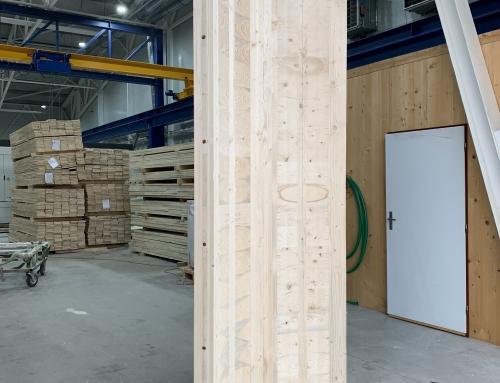 Wohn- und Geschäftshaus aus Massivholz