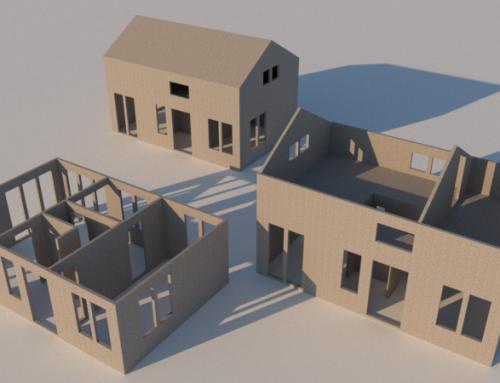 Entwicklung eines Smart-Gebäudebausatzes